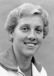 Canada's Cheryl Gibson chosen for the swimming team but did not compete in the boycotted 1980 Moscow Olympics . (CP Photo/COA) Cheryl Gibson du Canada, sélectionnée en natation pour les Jeux olympiques de Moscou de 1980, n'y a pas participé en raison du boycott. (Photo PC/AOC)